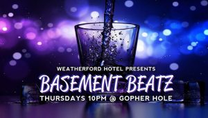 Basement Beatz! @ Weatherford Hotel Flagstaff   Flagstaff   AZ   United States