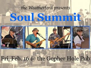 Soul Summit this Friday at the Gopher Hole Pub @ Weatherford Hotel Flagstaff | Flagstaff | AZ | United States