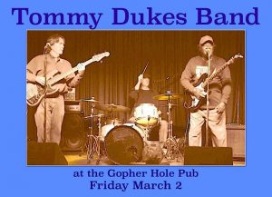 Tommy Dukes at the Gopher Hole Pub this Friday! @ The Gopher hole pub | Flagstaff | AZ | United States
